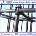 de alta resistencia de construcción de andamios sistema cuplock andamio piezas