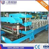 Alibaba Express Roof Tile Gutter Machine Glazed Tile Roll Forming Equipment