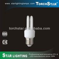 9mm T3 light tube 2U CFL energy save bulb