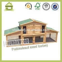 SDR14 pet house custom rabbit hutch