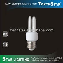 9w energy saving T3 2U CFL light bulbs