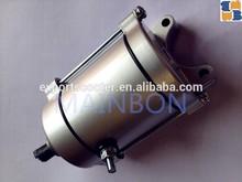 Motorcycle high quality engine spare parts 12V genuine starter motor