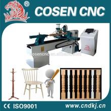 china cnc lathe machine mini lathe automatic wood milling machine