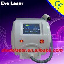 Hair Removal 810nm diode laser desktop machine with permanent epilation highpower laser handpiece/diode laser producer