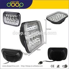 DOOP 5x7 offroad truck led head light, square led headlight