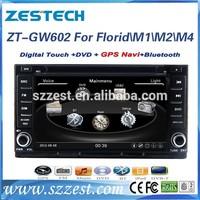 ZESTECH High performance touch screen Car DVD Gps Navigation for Great wall Florid Car DVD Gps Navigation fitting M1/M2/M4