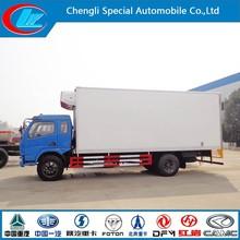 Vegetables freezer truck 4X2 refrigerator truck frozen lorry -18 degree chilled truck fresh cooling china freezer cargo van