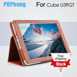 """J 9 inch original leather case for 9"""" Cube TALK9 u39gt quad core Tablet PC,Cube TALK9 u39gt case,Cube TALK9 u39gt Cover"""