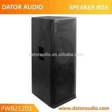 "speaker box 12"" 3-way passive 15/18 inch speaker horn titanium tweeter driver box"