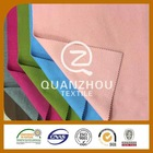 Best sale Formal Woven brush polyester micro twill fabric