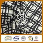 Wholesale fabric Latest style Fashion Woven brush print fleece fabric