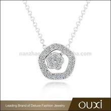 OUXI Latest design rhinestone charm crystal crave jewelry