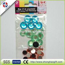Bling Bling 3D Round Flat Bottomed Crystal Sticker Sheet,Acrylic Sticker