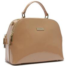 China popular designer patent leather handbags retail