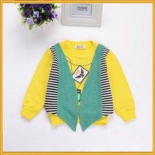 Baby Clothes Fashion Kid Wear Lovely Boy Cartoon T-Shirt, Cotton Boy T-Shirt for Spring, Boy T-shirt for Children Wholesale