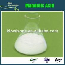 High quality Mandelic acid, CAS 611-71-2,(R)-(-)-mandelic,C8H8O3, GMP manufacturers