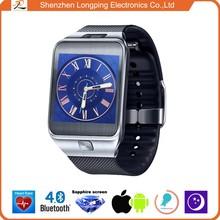 NO.1 G2 waterproof heart rate sensor sapphire screen bluetooth smart watch for iphone 6 and Samsung glaxy