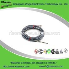 Waterproof Stainless Steel RTD Probe PT100 PT1000 Temperature Sensor