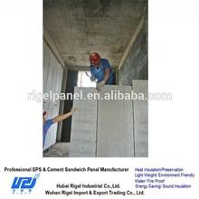 Prefabricated foam concrete sandwich panel office partition material