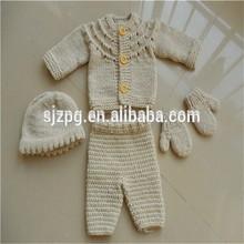 üreticisi tığ işi bebek giysileri, tığ desen kıyafetleri takım elbise