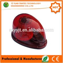 12V DC mini red color fashing led warning building aviation warning light