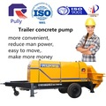 Hbt50/60 hidrolik valf elektrik büyük beton pompası