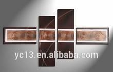 4pcs panel modern decortation artwork oil painting PL-63