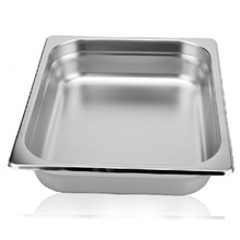 1/2*40mm NSF certification stainless steel Steam Table Anti Jam Gn container food Pan for coffee shop and restautant