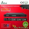 16 unversial multiplexación borde qam modulador, Ip de extremo a extremo rf puerta de enlace, Tv digital de los equipos de