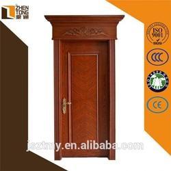 2015 new arrival Chinese fir/cherry/oak/teak/walnut solid teak wood doors