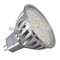 MR16 / GU10 27SMD LED lamp Wide beam angle 120 degree LED globe light = 50W