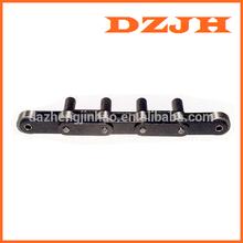 Large Roller Double Pitch Conveyor Chain with Extended Pins (C2052DF1,C210AF4,C2052-D4, C2050-D5,C212AHL-D4,C2062-D6)