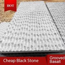 Hot sale natural stone black grey basalt
