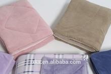 polyester quilt coral fleece duvet comforter set baby quilt