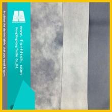 NO.A1455 fashion good quality slub cotton/polyster raw denim fabric golden supplier