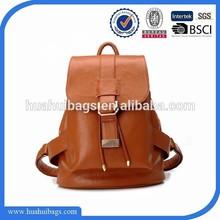 Vintage Stylish women leather backpacks