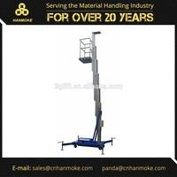125kg Single Mast Electric Portable Man Lift Platform