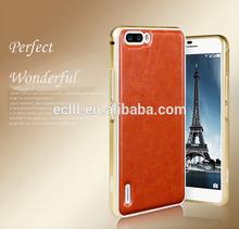 Fujian MOFI (Al-alloy frame) bumper cases metal phone case cover for Huawei honor 6 plus case