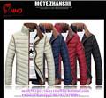 売れ筋2015綿100%高品質な男性の冬の長いコートダウン競争力のある価格で販売のための