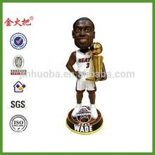 Custom basketball player championship bobble head
