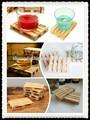 shandong recyle mini plataforma de madera de madera y artesanías hechas en china