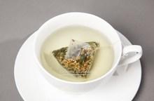 Pyradmid Nylon Tea Bag with OEM Tag