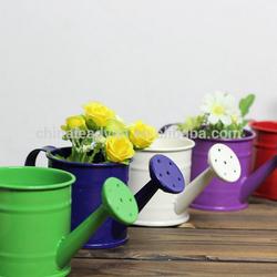 Home decoration metal cheap wholesale vases