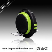 2015 NEW with bluetooth music one wheel self balance scooter with training wheel