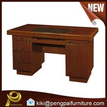 1.2m/ 1.4m wooden/paper/veneer office/ computer desk/ table with attached drawers