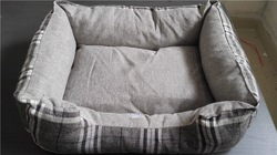 Hemp and strong pet bed for dog sofa style