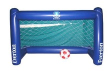 high quality inflatable plastic football goal