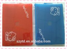 hellokitty design plastic tablet sleeve