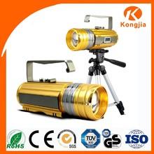 China Hot sale rechargeable led tripod flashlight