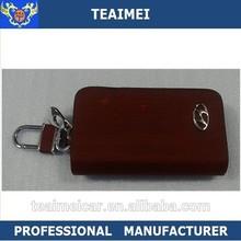 2015 car logo multifunctional car key holder wallet case real leather wallet